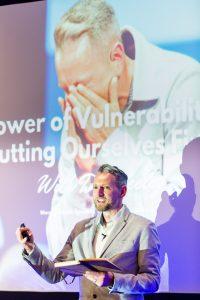 Keynote speaker Dan Keeley